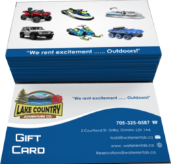 GIFT CARDS ARE AVAILABLE
