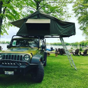 Roof Top Tent Rentals & Sales | Lake Country Water Rentals